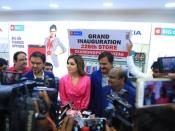 Rashi Khanna Launched Big C 226th Outlet At Vizag