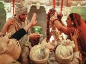 Priyanka Chopra And Nick Jonas Marriage Photos