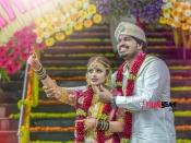 Rajahuli Movie Actor Harsha Weds Aishwarya