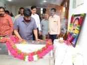Celebrities Pay Homage To Celebrities Film screenwriter And Director Vijaya Bapineedu