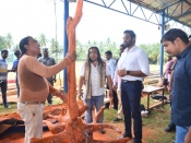"ishnu Manchu to host India's 36 Celebrated Wood Carving Artists Live Work ""Jnana' in Tirupati"