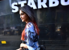 Adah Sharma Spotted At Star Bucks