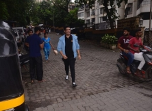Celebs Spotted At Karan Johar House