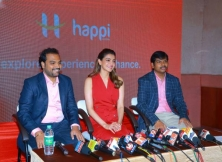 Kajal Agarwal Launched Happi Mobiles Show Room At Hanumakonda