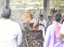 Sujata Kumar Funeral