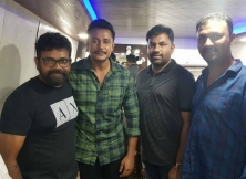 Telugu Director Sukumar Meet Kannada Actor Darshan
