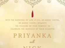 Priyanka Chopra & Nick Jonas Wedding Reception In Mumbai