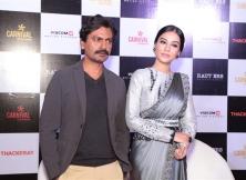 Nawazuddin Siddiqui and Amrita Rao Promote  Thackeray In New Delhi