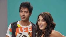 Shreyas Talpade and Minissha Lamba