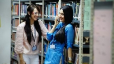 Hazel Keech and Kareena Kapoor