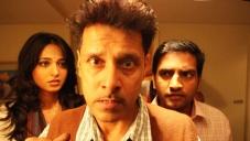Anushka Shetty, Vikram and Santhanam