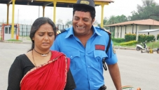 Shruti and Prakash Raj