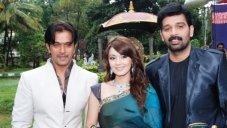 Arjun Sarja, Minishaw Lamba and Chakravarthy
