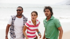 Ajay Devgan, Kareena Kapoor and Shreyas Talpade