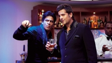 Shahrukh Khan and Fardeen Khan