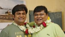 Rangayana Raghu and Bullet Prakash