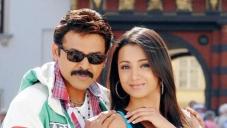 Venkatesh with Trisha Krishnan