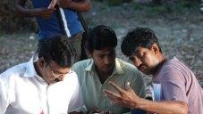 Goutham with Director R Raghuraj and Bhagyaraj