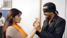 Posani Krishna Murali with Aarthi Agarwal