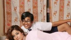 Kiran Rathod with Master Karthik