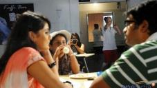 Shashank with Biyanka in Koffee Bar