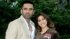 Suniel Shetty and Anjana Sukhani