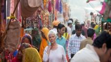 Judi Dench in Jaipur