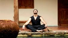 Arunoday Singh Doing Yoga
