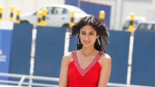 Hot Ileana D'Cruz in Red Dress