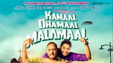 Kamaal Dhamaal Malamaal New Poster