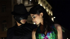 Pooja Hegde with Mask Man