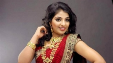 Mythili in Red Saree