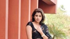 Nadeesha Hemamali Spicy Stills in Saree