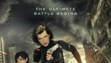 Milla Jovovich On Resident Evil Retribution poster