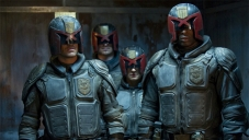 Karl Urban stars as Judge Dredd
