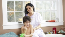 Sridevi Playing With the Kid