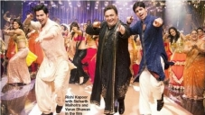 Rishi Kapoor in Radha Song From SOTY