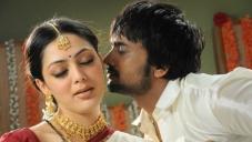 Sairam Shankar kisses Parvati Melton
