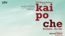 Kai Po Che New Poster