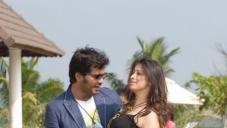 Vinay and Lakshmi Rai