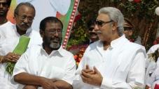 Manivannan and Sathyaraj Still From Nagaraja Cholan MA MLA