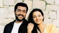 Suriya and Trisha