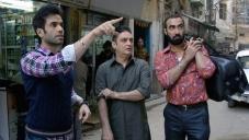 Tusshar Kapoor, Vinay Pathak and Ranvir Shorey still from Bajatey Raho