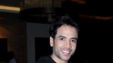 Tusshar Kapoor at Raanjhanaa success party