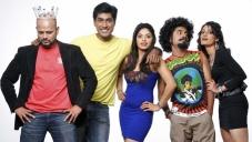 RJ Prithvi, Monish, Bhavana Rao, Vasu Dixit, Kanchan in Kannada Movie Money Honey Shani