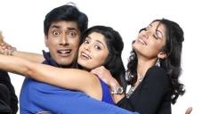 Monish, Bhavana Rao and Kanchan in Kannada Movie Money Honey Shani