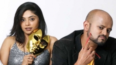 Bhavana Rao and RJ Prithvi in Kannada Movie Money Honey Shani