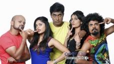 RJ Prithvi, Bhavana Rao, Monish, Vasu Dixit, Kanchan  in Kannada Movie Money Honey Shani