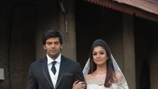 Arya and Nayantara wedding still from Raja Rani
