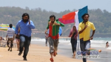 Komal, Tarun Chandra and Srikanth in Kannada Movie Goa